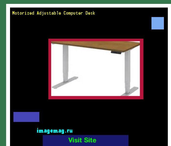 Motorized Adjustable Computer Desk 190409 - The Best Image Search