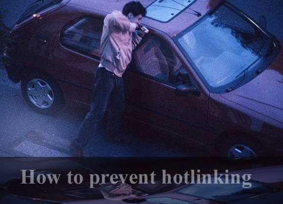 How to Prevent Image Hotlinking?