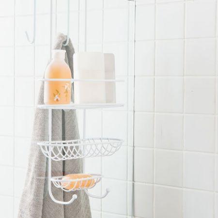 Howards Storage World | Splash Over the Door Shower Caddy