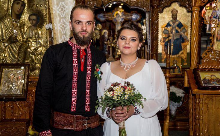 Ioan și Alma-Ioana. Nuntă tradițională la Frasin, Suceava