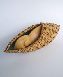 New Zealand Made Object Art - Koru Basket