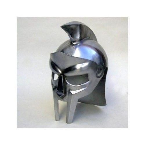 Gladiator Arena Armour Helmet Roman Maximus Metal Medieval Spartan Replica Armor in Hats & Helmets   eBay