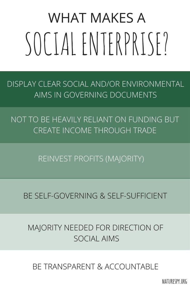 What makes a Social Enterprise? #socialenterprise | IDEAS
