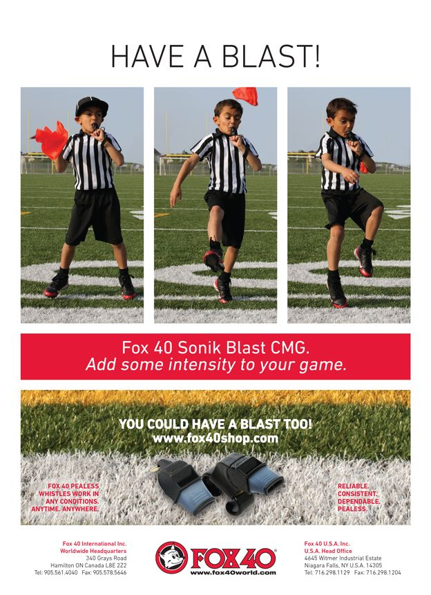 Check out our Referee Magazine Ad that was published in the October + November 2015 Issues!
