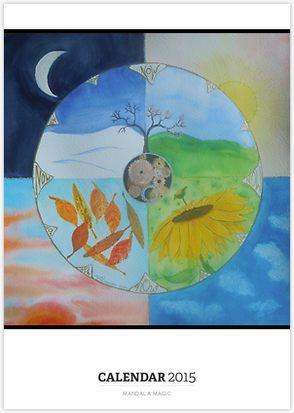 Mandala Magic - a calendar of mandalas!