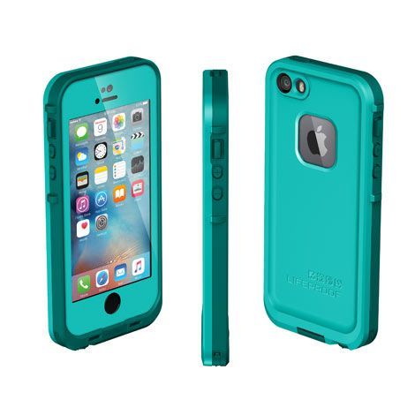 Waterproof iPhone SE, iPhone 5s & iPhone 5 case | FRĒ from LifeProof | LifeProof (Michelle TW's actual iphone cover) (bad reviews - says hard to hear ppl or ppl can't hear you when you call)