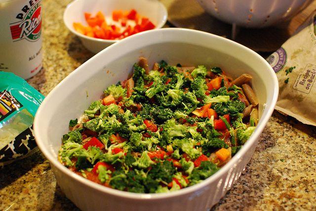 Veggie Baked Ziti Recipe | Food | Pinterest