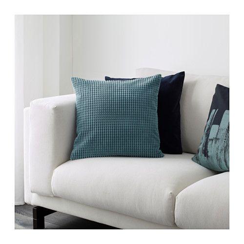 IKEA GULLKLOCKA cushion cover Chenille fabric feels ultra soft against your skin.