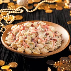 Out to Sea Pasta Shell Salad Recipe - I think Mia would like this... maybe add olives for her.