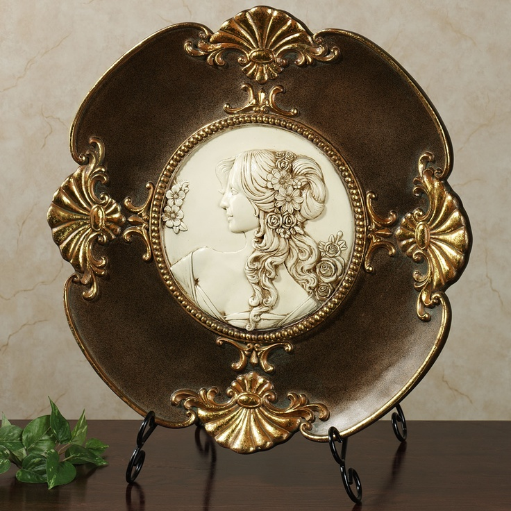 Rossella Cameo Plaque With Stand Royal Themed Guest Bathroom Pinterest