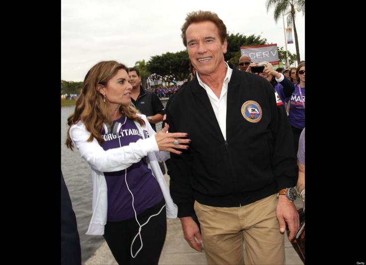 Maria Shriver and Arnold Schw...  Celebrity Splits