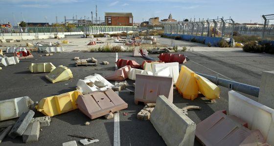 El abandono invade el circuito de F-1 de Valencia, una de las joyas de la época del despilfarro del Gobierno del PP