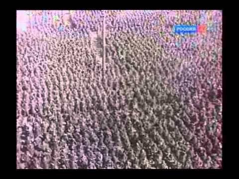 (353) Проконвоирование немцев через Москву 17 июля 1944 - YouTube