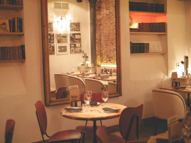 Makkila downstairs dinning room, Makkila Fernando VI, Madrid. Belen Ferrandiz Interior Design, September 2014.