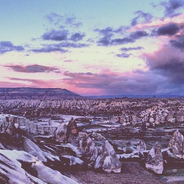 #Cappadocia, Turkey looks like a surreal dream made into reality.    Photo courtesy of puccipuz on Instagram.