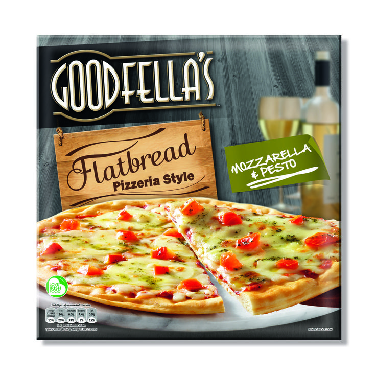 Goodfellas Flatbread Pizza, designed by Mesh Design, Dublin!