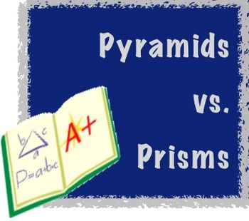 Solid Figures: Prisms and Pyramids Notepage Great resource for teaching solid figures!  These pages outline key vocabulary terms needed for a discussion including face, base, and edge. Also, comparison charts of prisms and pyramids are included, as well as a Venn Diagram students can fill out about these two types of solid figures. Have students keep this in their math notebook or folder to refer to when needed.