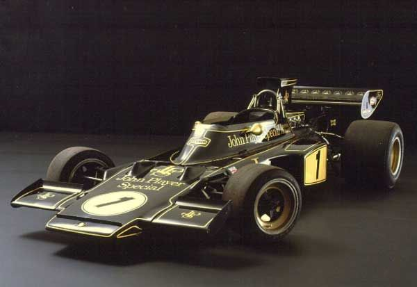 Lotus F1 John Player Special 1972  a true classic
