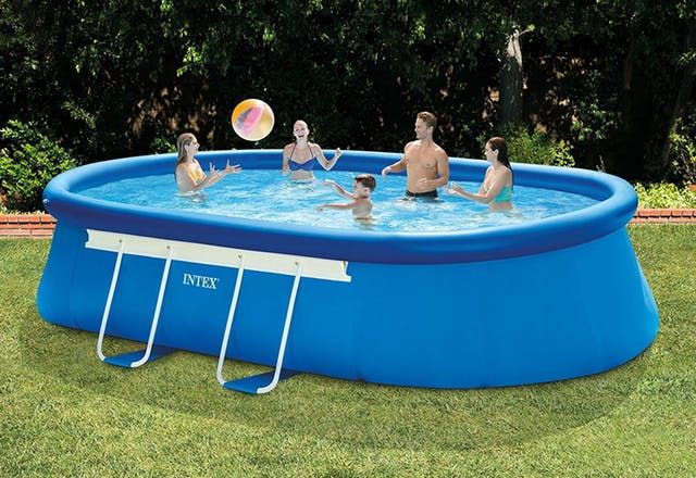 5 Portable Pools For Every Size Backyard And Budget On Amazon Above Ground Swimming Pools Easy Set Pools Portable Pools