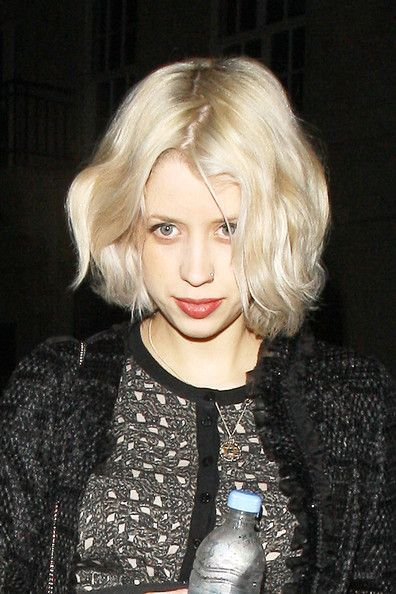 Peaches Geldof. Cute hair!