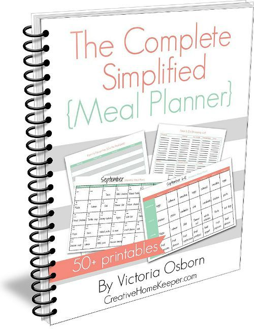 117 best plan ahead! images on Pinterest - meal calendar