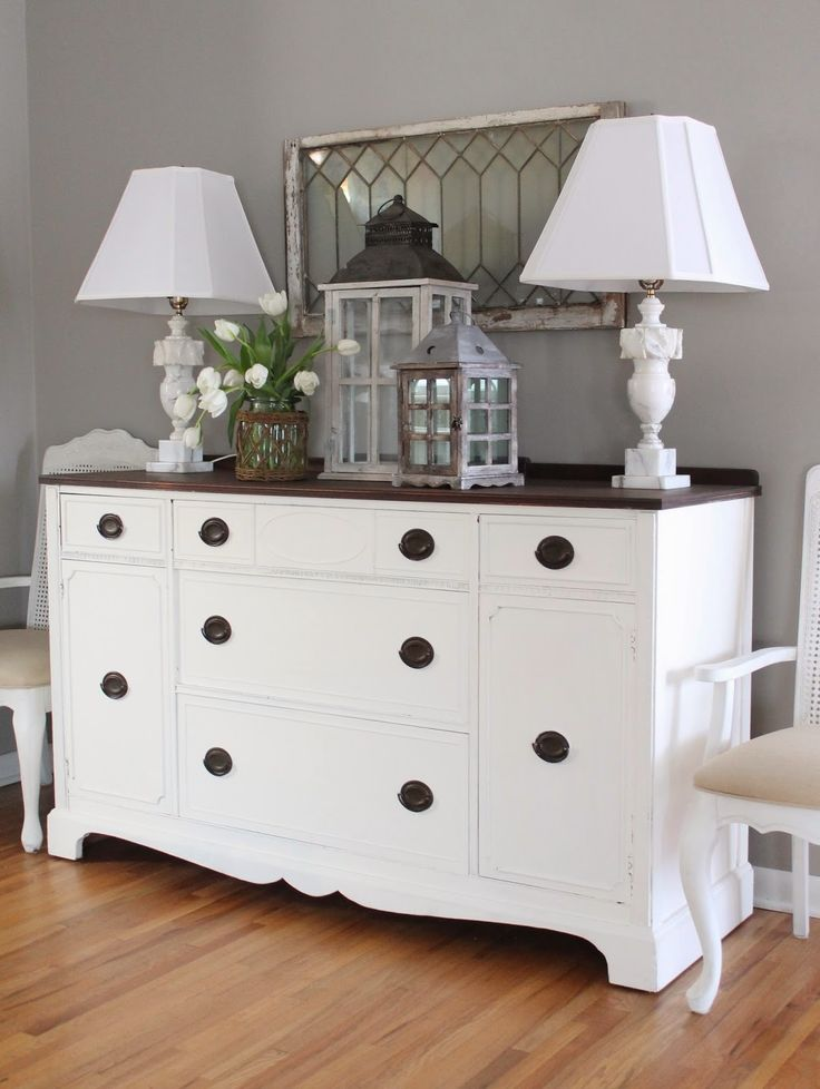 eclectic home tour 12th and white blog buffet decorationsdining - Dining Room Sideboard Decorating Ideas