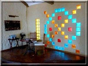 tijolos de vidro decoração casa