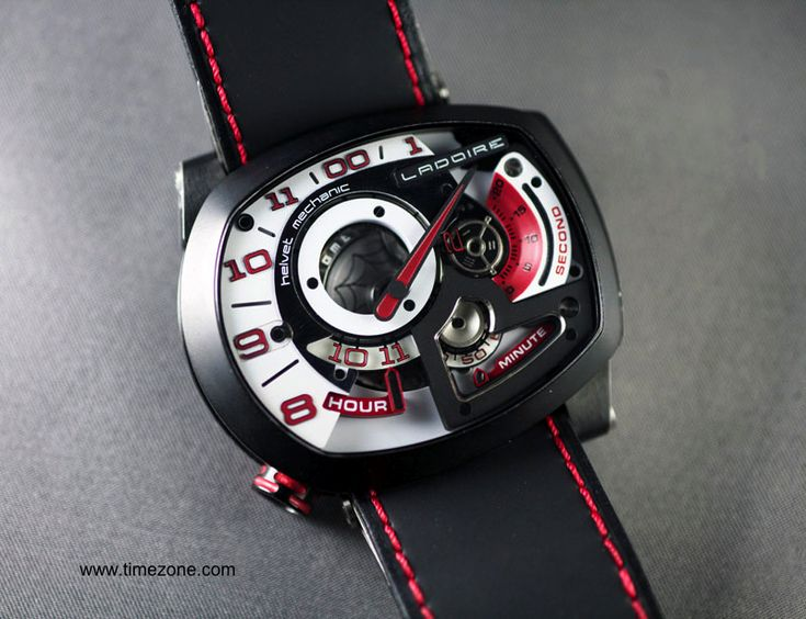 The New Black Widow Mr. Race Watch from Ladoire Geneve 2 -