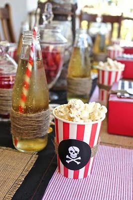 Piratas - Decoración de Fiestas de Cumpleaños Infantiles