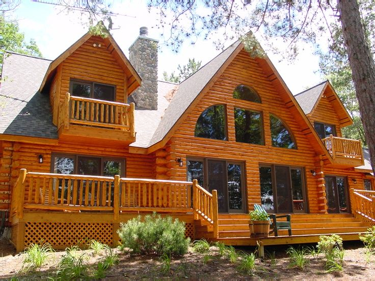 93 best images about log  cabin and waterfront homes on