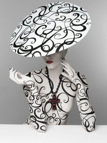 Italian photographer Patrizio di RenzoDi Renzo, Black And White, White Fashion, Serge Lutens, Art, Body Painting, Patrizio Di, Black White, Fashion Photography