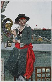 Captain William Kidd (c. 22 January 1645 – 23 May 1701)was a Scottish sailor who was tried and executed for piracy after returning from ...
