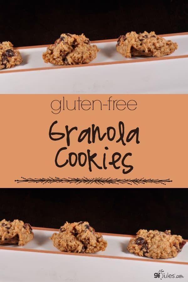 Granola Cookies   Recipe   Gluten free recipes easy ...