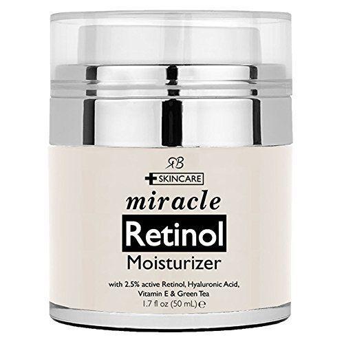 Retinol Moisturizer Cream for Face - With Retinol, Hyalur...