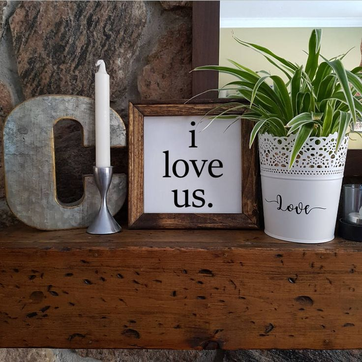 Excited to share the latest addition to my #etsy shop: Reverse Canvas - 8x8 - I Love Us - Paint - Stained Frame - Wood - Rustic - Farm House Style Coffee & Tea - Coffee Bar http://etsy.me/2CcaDH2 #art #mixedmedia #white #black #canvas #paint #wood #reversecanvas #8x8