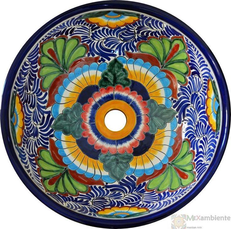 MEX3 Mexiko Design Waschbecken - Mexambiente Waschbecken & Fliesen aus Mexiko