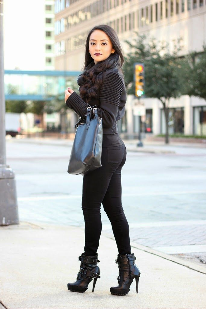 Maytedoll: When in doubt, wear all black