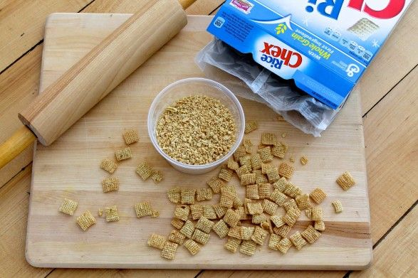 """GF """"panko"""" bread crumbs. Well, duh! Never would've thought of that. :)"""