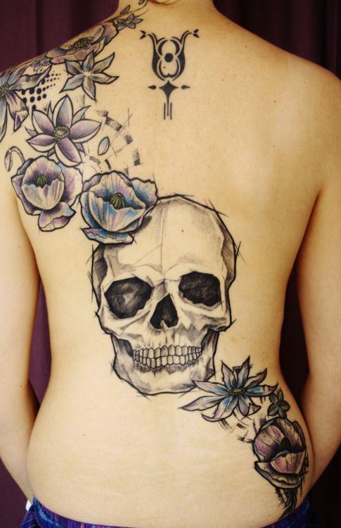 fuckyeahtattoos:  Steve Art Tattoo, Nancy, France