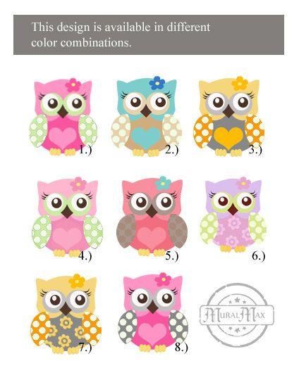 girls wall art owl canvas art baby nursery owl 10x by muralmax