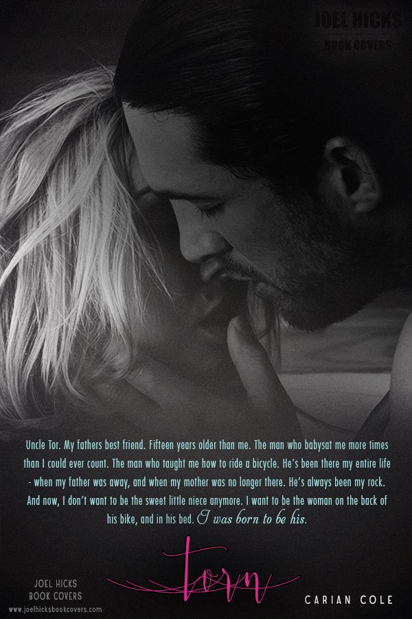Torn (Kenzi and Toren's story) Coming Spring 2016 (Photo by Joel Hicks)