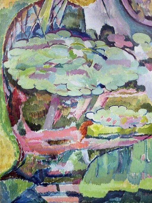 Landscape (verso)  by Vanessa Bell