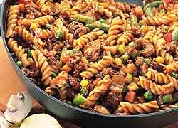 Pasta One Pan Dinner recipe from Food in a Minute