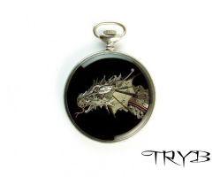 http://polandhandmade.pl #polandhandmade #dragon #clockwork  #medallion