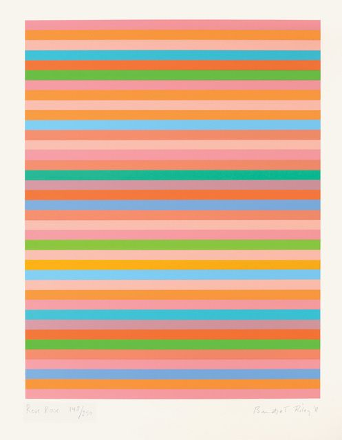 Bridget Riley | Rose Rose (2011) | Available for Sale | Artsy