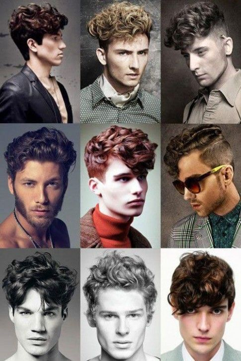 Curly Hairstyle Names For Guys Curly Hair Men Mens Hairstyles Curly Hair Styles