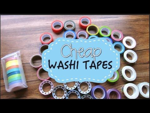 Planning On a Budget: Cheap Washi Tapes - ❤ LuckiCharms ❤