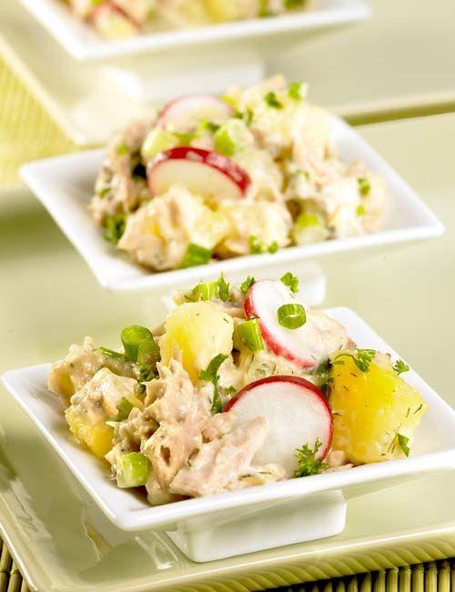 Tonijn-aardappelslaatje - Colruyt Culinair !