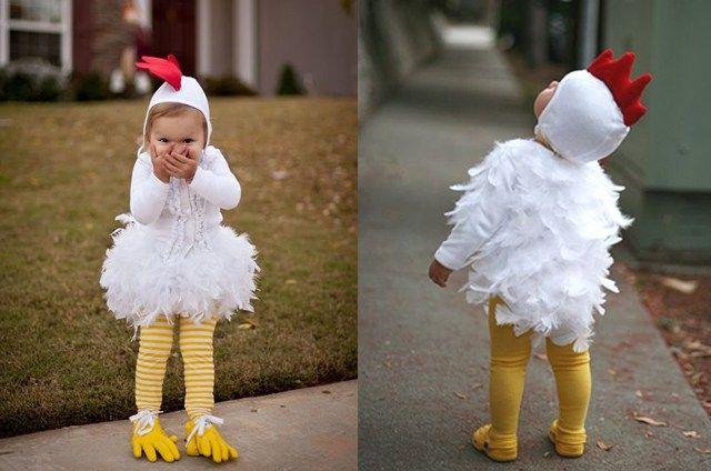 Disfraz de pollo.