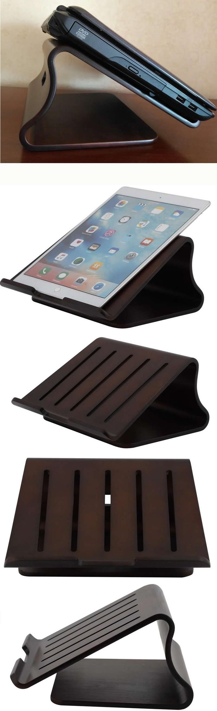 The Bamboo Wooden Cooling Stand Riser Dock Laptop Desk Desktop Stand Holder Mount Cradle for Laptop Notebook Tablets iPad Macbook Air or Pro is a great gift idea for those who spent endless hours in front of their laptop